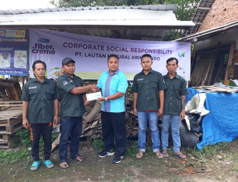 PT Lautan Natural Krimerindo Collaborates With The Local Community