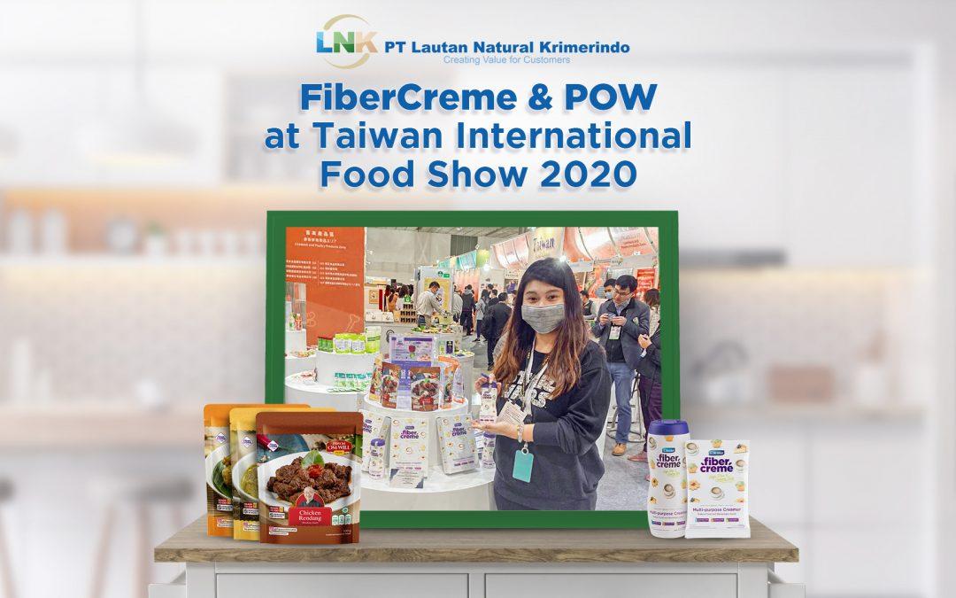 PT. Lautan Natural Krimerindo join TIFS with KDEI Taiwan