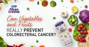 CAN VEGETABLES AND FRUITS REALLY PREVENT COLORECTAL CANCER?